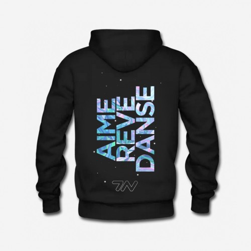 Sweatshirt black AIME REVE...